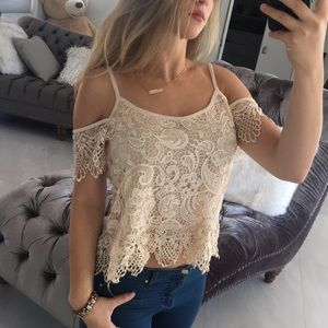💫HP💫Ina Laced Top